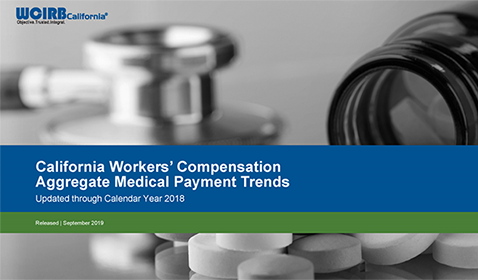 California Workers' Compensation Aggregate Medical Payment Trends Report