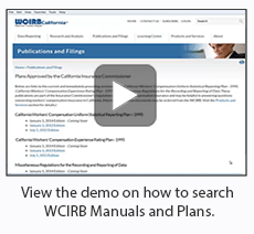 View the video demo on how to search Manuals and Plans