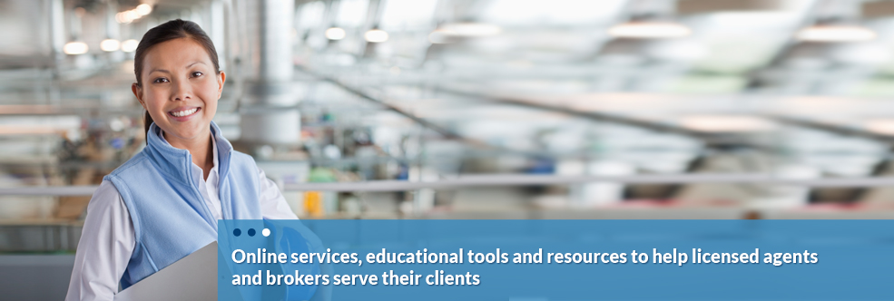 Online services, educational tools and resources to help licensed agents and brokers serve their clients